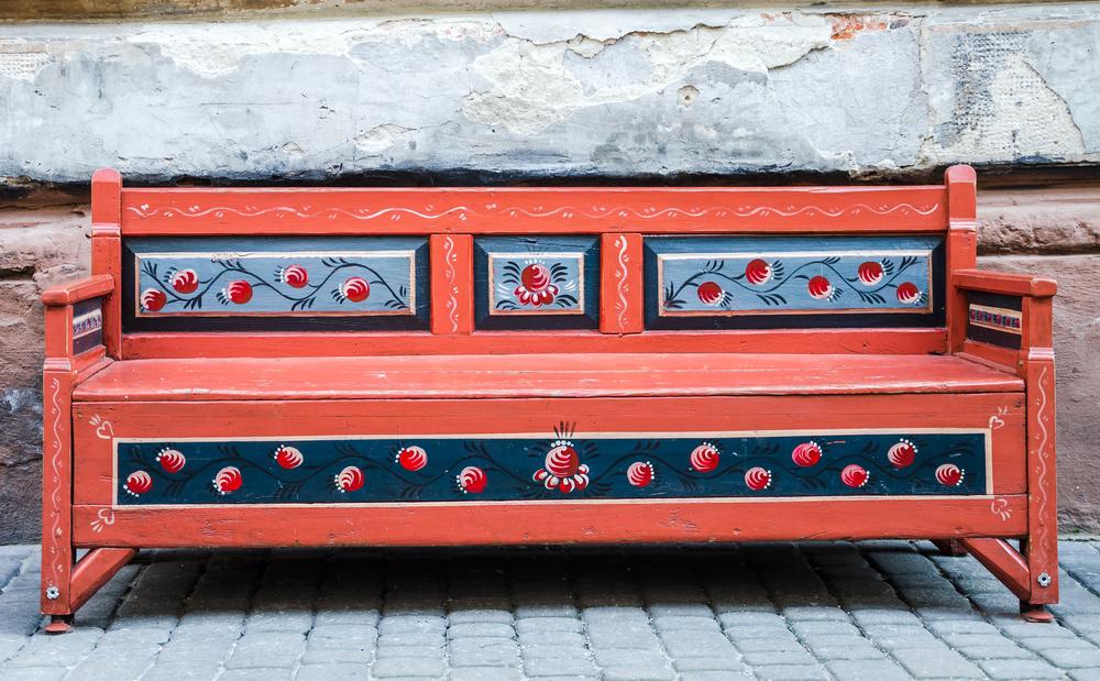 vom bett zur bank aus einem alten bettgestell ein sitzm bel selber bauen im 1a. Black Bedroom Furniture Sets. Home Design Ideas