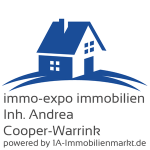 Logo ''immo-expo immobilien, Inh. Andrea Cooper-Warrink''