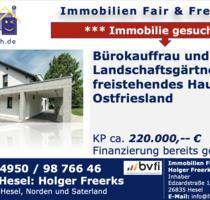 * Bürokauffrau und Landschaftsgärtner suchen neues Zuhause * - Norden