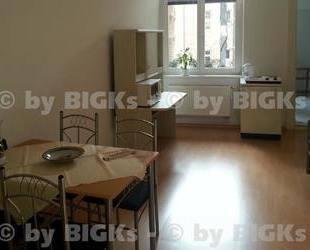 Halle im Paulusviertel: möbliertes Zimmer mit eigenem Duschbad, Balkon (-;)