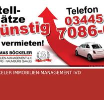 Ein sicherer Stellplatz auf einem abgeschlossenen Grundstück zur Miete gesucht? - Naumburg